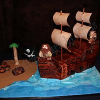 3-D Pirate Ship