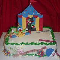 School Carnival Cake!