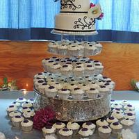 the first wedding cake of the 2013 season