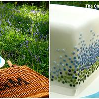 Bluebell Cake Cube