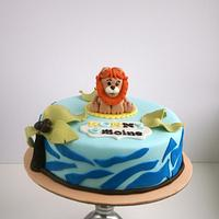 Little lion cake