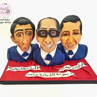 Egyptian Cakers Ramadan Collaboration-Egyptian Comedian Trio