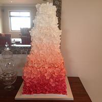 Wedding cake Maggie Austin Inspired