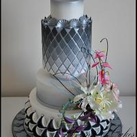 Perth Royal Show Wedding Cake 1st Prize and 2 special prizes 2015