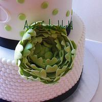 Birthday cake by Ana