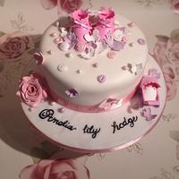 Christening cake  by Jenna
