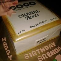 Coco Chanel Box Cake
