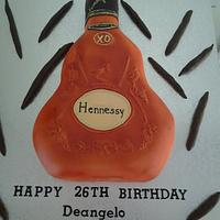Hennessy bottle by Cakes and Cupcakes by Monika