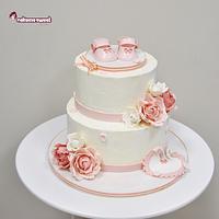 All cream cake
