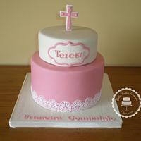 My niece's First Communion cake