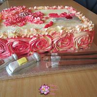Shiny  Butter cream cake