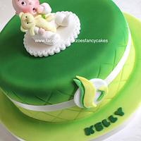 baby shower cake for a Bokwa instructor