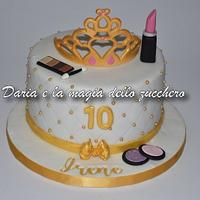 Fashion princess cake