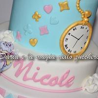 Alice in wonderland cake by Daria Albanese