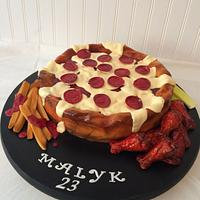 Pizza food Cake