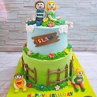 Omar family cake
