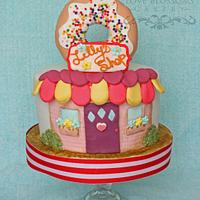 Donut Shop Cake