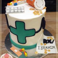 Pharmacy doctor cake