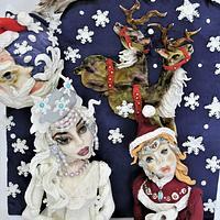 Christmas snow cpc collaboration