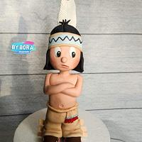 My little indian - Cake by Petra