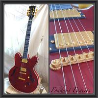 Gravity defying Gibson es-355 Guitar by Gemma Coupland