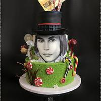 Willy Wonka Hand Painted