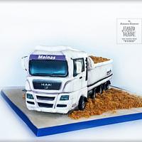 Man Truck Cake