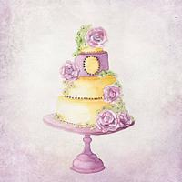 CakesDecor Theme: Painted Cakes Part 2