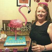 Fun Flamingo 50th 😂