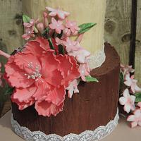 Rustic flowers by Shereen