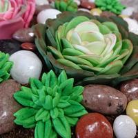 Flower cake by Stertaarten (Star Cakes)
