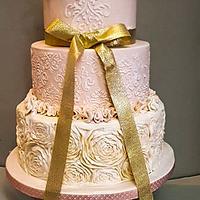 wedding spring cake