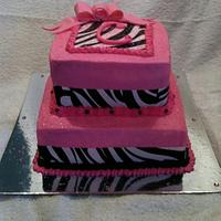 Zebra Stripes and Hot Pink