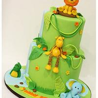 Jungle themed baby shower!