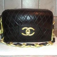 Coco Chanel purse cake!