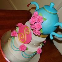 Teapot cake....Inspired by Yuma Couture Cakes