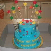 Polka Dot and Stars First Birthday