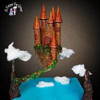 Castle Gravity Cake!!!