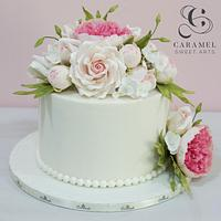 Floral Arrangement Cake