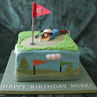 Birthday Golfer