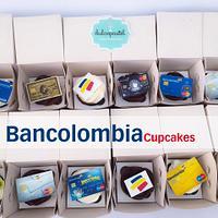 Cupcakes Corporativos Bancolombia