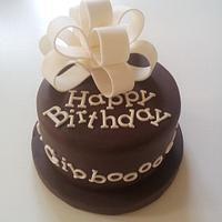 One person birthday cake