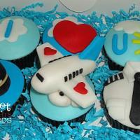 I ? U Pilot! Cupcakes