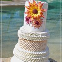 DUBLIN WEDDING CAKE - IRISH SUGARCRAFT SHOW COMPETITION 2016