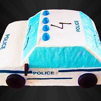 Cake Police Car