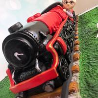LMS Train Cake