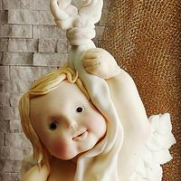 The angel child cake