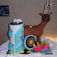 3D Hobby Cake by Dayna Robidoux