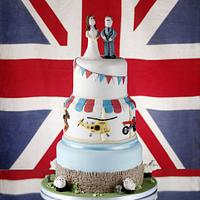 Royal Wedding - Cotswold Life Cake