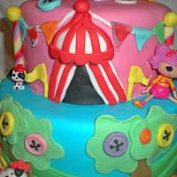 La la loopsy cake  by Time for Tiffin
